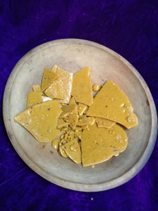 Frankincense, Boswellia Papyrifera resin from bottom of still