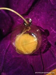 First racking-Dandelion Wine 2013