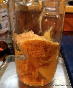 DO NOT heat all Mustache wax recipe  ingredients in one vessel