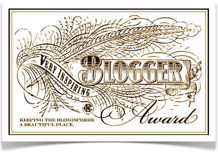 Very Inspiring Blogger Award logo