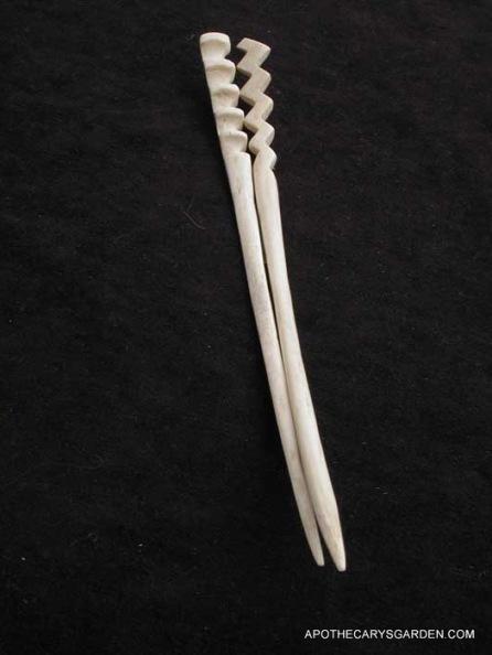 Cattle bone Hairsticks