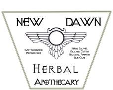 Apothecary's GardenNew Dawn Logos Tags 3-001