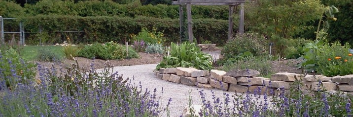 Apothecary's Garden-Teaching Gardens at Churchill Park, Hamilton