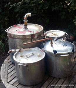 DIY Distillation-Home made Pot Still