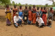 Working with the Samburu Mamas in NE Kenya