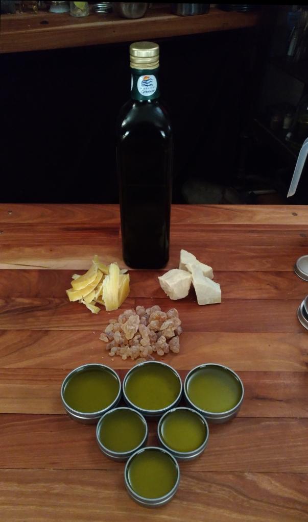 How to make a Frankincense salve